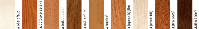 typy_dreva